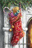 Marcello, CHRISTMAS SYMBOLS, WEIHNACHTEN SYMBOLE, NAVIDAD SÍMBOLOS, paintings+++++,ITMCXM1644,#XX# ,Christmas stockings
