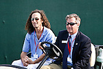 PALM BEACH GARDENS, FL. - Musician Kenny G and  Executive Director Kenneth Kennerly during Round Two play at the 2009 Honda Classic - PGA National Resort and Spa in Palm Beach Gardens, FL. on March 6, 2009.