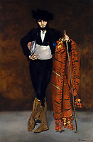 Young Man in the Costume of a Majo, 1863 (oil on canvas), Manet, Edouard (1832-83) / Metropolitan Museum of Art, New York, USA