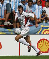 Chris Klein, Argentina vs. USA, Miami, Fla.