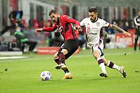 Milano 12-05 2021<br /> Stadio Giuseppe Meazza<br /> Serie A  Tim 2020/21<br /> Milan - Cagliari<br /> Nella foto:Theo Hernandez                                      <br /> Antonio Saia Kines Milano