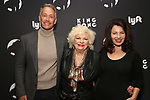 "Peter Marc Jacobson, Renee Taylor and Fran Drescher attends the Broadway Opening Night of ""King Kong - Alive On Broadway"" at the Broadway Theater on November 8, 2018 in New York City."