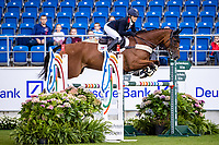 GBR-Laura Collett rides Mr Bass during the Jumping for the CCIO4*-S Eventing - SAP Cup. 2021 GER-CHIO Aachen Weltfest des Pferdesports. Aachen, Germany. Friday 17 September. Copyright Photo: Libby Law Photography