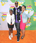 Snoop Dogg and family attends The 24th Annual Kids' Choice Awards held at USC's Galen Center in Los Angeles, California on April 02,2011                                                                               © 2010 DVS / Hollywood Press Agency