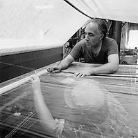 weavers at Wannalancit Mill, Lowell, MA