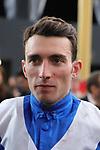 October 6, 2019, Paris (France) - Jockey Pierre-Charles Boudot in Portrait on October 6 at ParisLongchamp Race Course  [Copyright (c) Sandra Scherning/Eclipse Sportswire)]