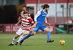 Hamilton Accies v St Johnstone…09.12.17…  New Douglas Park…  SPFL<br />Murray Davidson and Greg Docherty<br />Picture by Graeme Hart. <br />Copyright Perthshire Picture Agency<br />Tel: 01738 623350  Mobile: 07990 594431