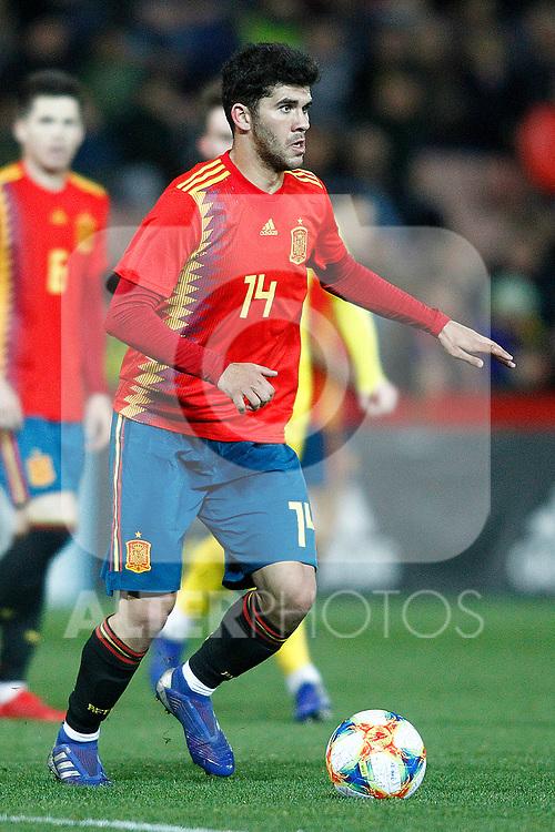 Spain's Carles Alena  during the International Friendly match on 21th March, 2019 in Granada, Spain. (ALTERPHOTOS/Alconada)