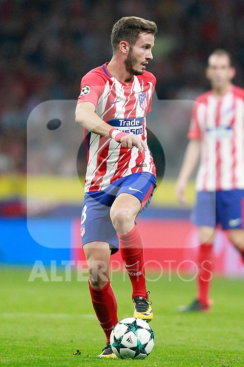Atletico de Madrid's Saul Niguez during Champions League 2017/2018, Group C, match 2. September 27,2017. (ALTERPHOTOS/Acero)