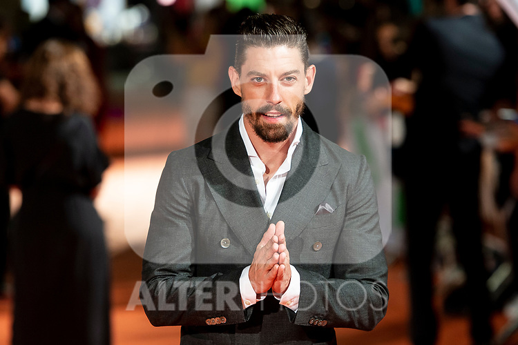 Actor Adrian Lastra attends to orange carpet of 'Velvet' during FestVal in Vitoria, Spain. September 04, 2018. (ALTERPHOTOS/Borja B.Hojas)