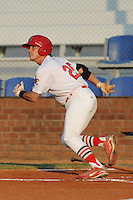 Cody Stanley during a game against the Princeton Rays  at Howard Johnson Field, Johnson City, TN August 26, 2010. Johnson City won the game 6-1