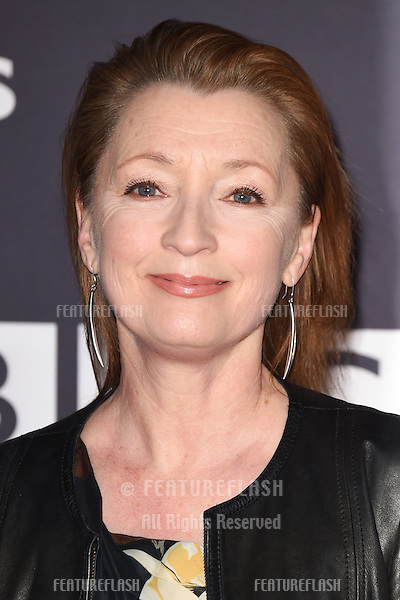 Leslie Manville arrives for the BBC Films' 25th Anniversary Reception at Radio Theatre, New Broadcasting House, London. 27/03/2015 Picture by: Steve Vas / Featureflash