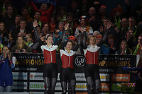 SPEEDSKATING: HEERENVEEN: 10-01- 2020, IJsstadion Thialf, European Championship distances, Podium Team Sprint Ladies, Team POL, ©foto Martin de Jong