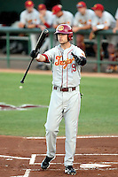Cade Kreuter, University of Southern California Trojans against the Arizona State Sun Devils at Packard Stadium, Tempe, AZ - 04/16/2010.Photo by:  Bill Mitchell/Four Seam Images.