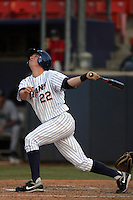 March 27, 2010: Gary Brown of Cal. St. Fullerton during game against Hawaii at Goodwin Field in Fullerton,CA.  Photo by Larry Goren/Four Seam Images