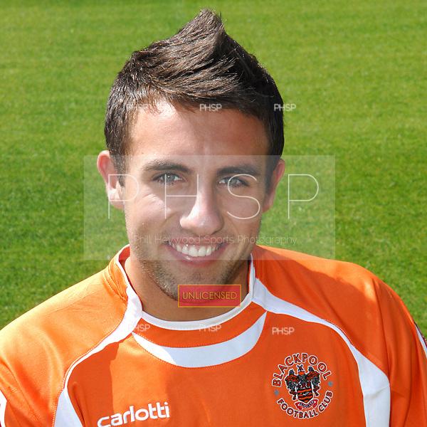 Matthew Kay Blackpool FC.