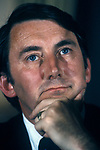 David Steel MP London Press Conference 1980s.
