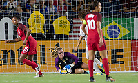 Carson, CA - Thursday August 03, 2017: Alyssa Naeherduring a 2017 Tournament of Nations match between the women's national teams of the United States (USA) and Japan (JAP) at StubHub Center.