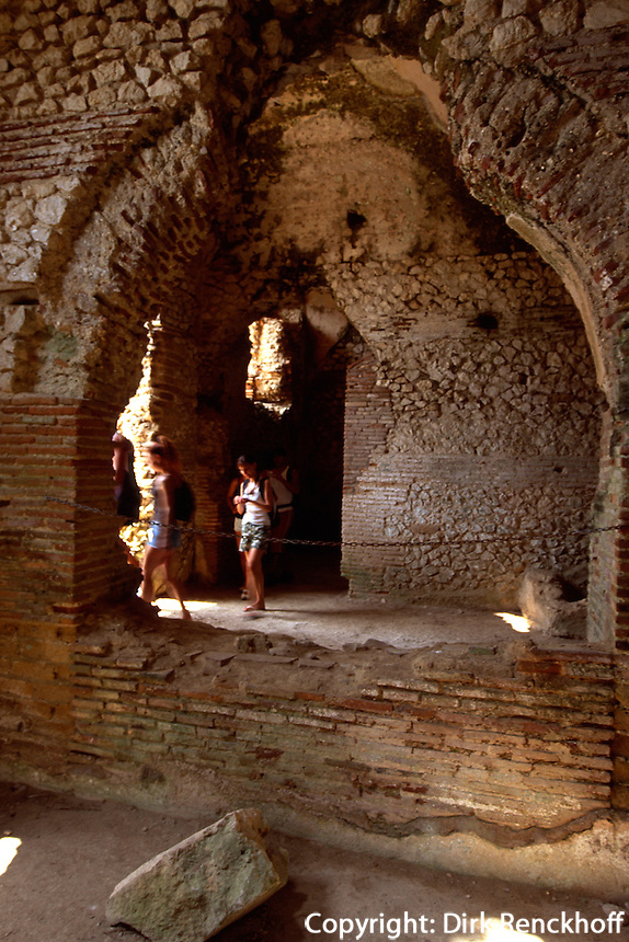 Italien, Capri, Villa Jovis des Tiberius, 1.Jh. n.Chr.