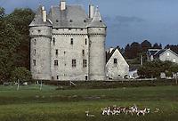 Europe/France/Limousin/23/Creuse/Env Aubusson: Château de Saint-Maixant