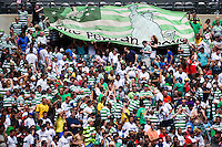 Celtic F. C.fans. Real Madrid defeated Celtic F. C. 2-0 during a 2012 Herbalife World Football Challenge match at Lincoln Financial Field in Philadelphia, PA, on August 11, 2012.