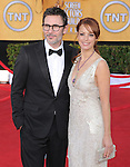 Michel Hazanavicius, Berenice Bejo at the 18th Screen Actors Guild Awards held at The Shrine Auditorium in Los Angeles, California on January 29,2012                                                                               © 2012 Hollywood Press Agency
