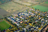 Ohe:DEUTSCHLAND, SCHLESWIG- HOLSTEIN, REINBEK, OHE 27.10.2005:Neubaugebiet in Ohe bei Reinbek