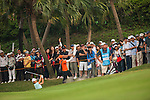 TAOYUAN, TAIWAN - OCTOBER 27:  Yani Tseng of Taiwan plays a bunker shot on the 17th hole during the day three of the Sunrise LPGA Taiwan Championship at the Sunrise Golf Course on October 27, 2012 in Taoyuan, Taiwan.  Photo by Victor Fraile / The Power of Sport Images