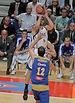 Real Madrid's Felipe Reyes during ACB match.September 30,2010. (ALTERPHOTOS/Acero)