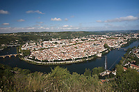 Europe/France/Midi-Pyrénées/46/Lot/Cahors: Vue générale de la ville et  du méandre du Lot depuis le Mont Saint-Cyr