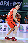 Valencia Basket's Guillem Vives during Semi Finals match of 2017 King's Cup at Fernando Buesa Arena in Vitoria, Spain. February 18, 2017. (ALTERPHOTOS/BorjaB.Hojas)