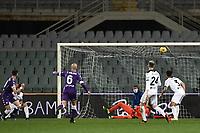 Gaetano Castrovilli of ACF Fiorentina scores a goal during the Serie A football match between ACF Fiorentina and Spezia Calcio at Artemio Franchi stadium in Firenze (Italy), February 19, 2021. Photo Image Sport / Insidefoto