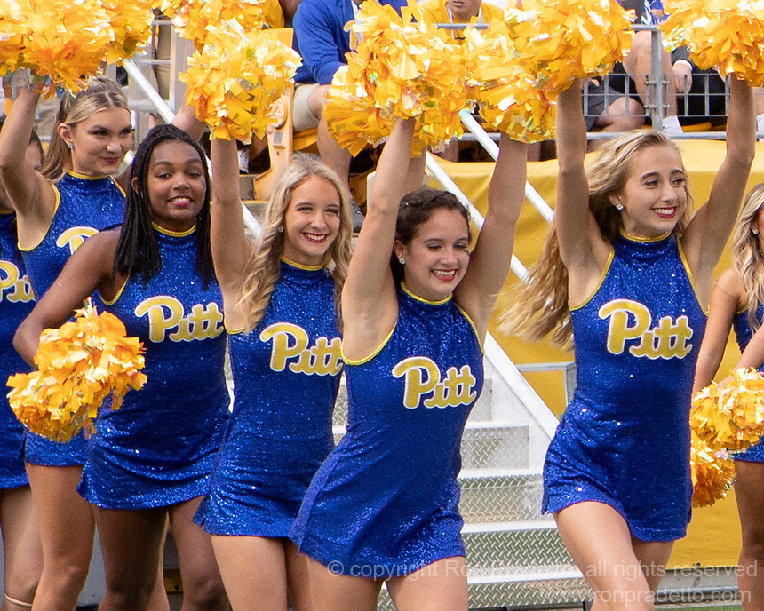 Pitt dance team. The Pitt Panthers defeated the New Hampshire Wildcats 77-7 at Heinz Field, Pittsburgh, Pennsylvania on September 25, 2021.