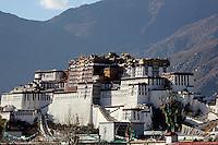 Potala in Lhasa, Tibet