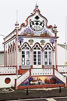 Heiliggeisttempel (Imperio)  in Sao Sebastiao auf der Insel Terceira, Azoren, Portugal