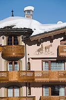 Europe/France/Rhone-Alpes/73/Savoie/Courchevel:  Hôtel-Restaurant: Les Airelles