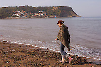 Runswick Bay - North Yorkshire - England - teenage anxiety