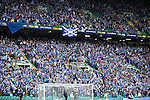 St Johnstone v Dundee United....17.05.14   William Hill Scottish Cup Final<br /> Over 15,000 St Johnstone fans in Celtic Park<br /> Picture by Graeme Hart.<br /> Copyright Perthshire Picture Agency<br /> Tel: 01738 623350  Mobile: 07990 594431