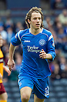 Motherwell v St Johnstone.....16.04.11  Scottish Cup Semi-Final.Stevie May.Picture by Graeme Hart..Copyright Perthshire Picture Agency.Tel: 01738 623350  Mobile: 07990 594431