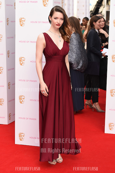 Tallulah Riley<br /> arrives for the 2015 BAFTA TV Awards at the Theatre Royal, Drury Lane, London. 10/05/2015 Picture by: Steve Vas / Featureflash