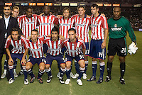 Chivas USA starting eleven. The LA Galaxy and Chivas USA played to a 2-2 draw at Home Depot Center stadium in Carson, California on Thursday, August 14, 2008.