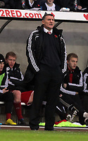 ATTENTION SPORTS PICTURE DESK<br /> Pictured: Tony Mowbray, manager for Middlesbrough<br /> Re: npower Championship, Swansea City FC v Middlesbrough Football Club at the Liberty Stadium, south Wales. Sunday 14 November 2010
