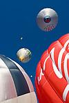 Oesterreich, Salzburger Land, Filzmoos: jaehrlich stattfindenden Internationalen Ballonwochen | Austria, Salzburger Land, Filzmoos: yearly International Hot Air Balloon Week