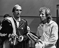 1978, ABN Tennis Toernooi, Stan Smith and Vitas Gerulaitis(r)