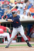 Cuddyer, Mike 7836.jpg. Minnesota Twins at Philadelphia Phillies. Spring Training Game. Saturday March 21st, 2009 in Clearwater, Florida. Photo by Andrew Woolley.