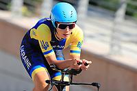 9th September 2021; Trento, Trentino–Alto Adige, Italy: 2021 UEC Road European Cycling Championships, Womens Individual time trials:  KONONENKO Valeriya (UKR)