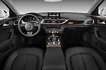 Front seat view of 2012-2014 Audi A6  Premium Plus 4 Door Sedan front seat car photos