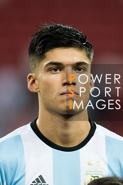 Carlos Correa of Argentina during the International Test match between Argentina and Singapore at National Stadium on June 13, 2017 in Singapore. Photo by Marcio Rodrigo Machado / Power Sport Images