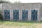 Foto: VidiPhoto<br /> <br /> NUMANSDORP – De Stichting Fort Buitensluis heeft ambitieuze plannen om het verdedigingswerk uit de 18e eeuw ingrijpend te renoveren en er een toeritische attractie van te maken. De kosten daarvoor bedragen zo'n 4 miljoen euro. Fort Buitensluis ligt aan het Hollands Diep in Numansdorp, gemeente Hoeksche Waard. Foto: Het cellencomplex.
