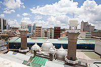 Jamia Mosque in downtown Nairobi, Kenya.